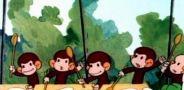 Как обезьянки обедали