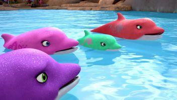 Барби и волшебные дельфины