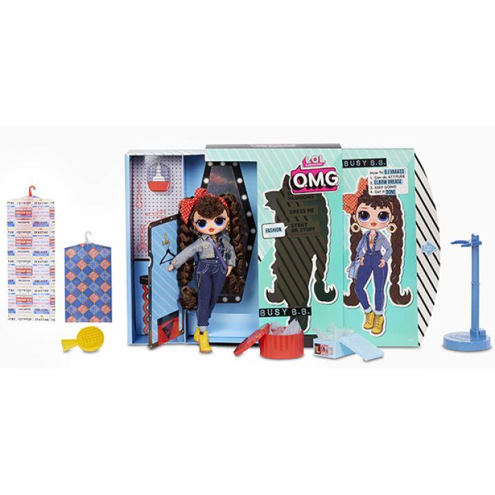 Купить L.O.L. Surprise 565116 Кукла ЛОЛ OMG Busy B.B. 2 ...