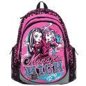 """Рюкзак школьный """"Monster High"""", цвет: розовый, черный, серый. MHBB-RT2-976"""