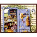 """Набор для рисования по номерам Цветной """"Дом садовода"""", 40 x 50 см"""