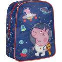 Peppa Pig Рюкзак дошкольный Свинка Пеппа цвет синий оранжевый 32042