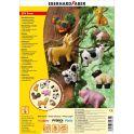 Eberhard Faber Набор формочек для лепки Домашние животные 9 шт