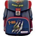 Action! Ранец школьный Discovery T-Rex цвет красный синий