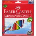 Faber-Castell Набор цветных карандашей Eco с точилкой 24 шт