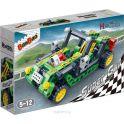 BanBao Пластиковый конструктор Гоночная машина цвет зеленый 128 деталей