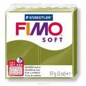 Fimo Soft Глина полимерная цвет оливковый