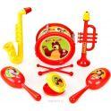 Играем вместе Набор музыкальных инструментов Маша Медведь B1582336-R