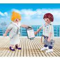 Playmobil Игровой набор Дуо Капитан круизного корабля