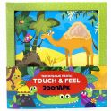 Malamalama 4627131682316 Тактильные пазлы Touch and feel!. Зоопарк