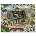 "World Peacekeepers MC77088 Игровой набор ""Военная база"" 6 фигурок, 1:18"
