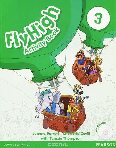 Fly High 3: Activity Book (+ CD-ROM)