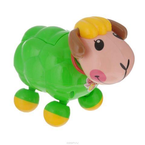 """Развивающая игрушка Mommy Love """"Веселая овечка"""", озвученная, цвет: зеленый"""