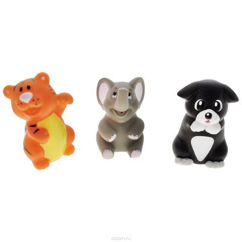 """Игровой набор для ванны Mioshi """"Удивительные животные"""", 3 шт"""