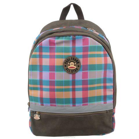 """Рюкзак Kinderline """"Paul Frank"""", цвет: коричневый, розовый, зеленый"""