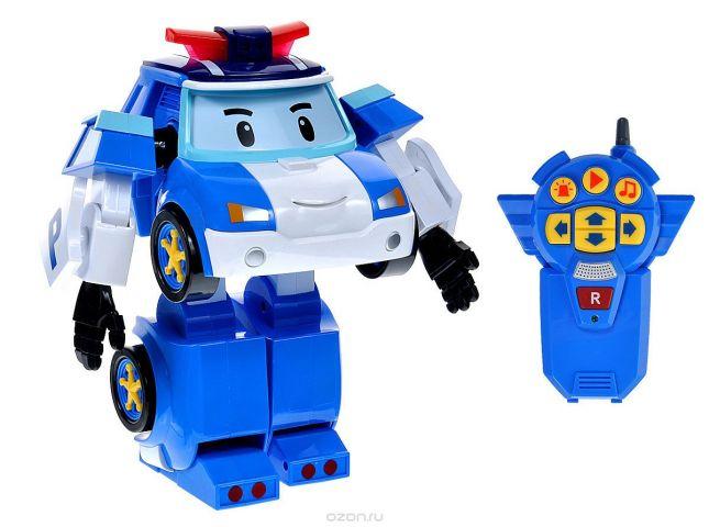 Robocar Poli Робот-трансформер на радиоуправлении Шагающий Поли
