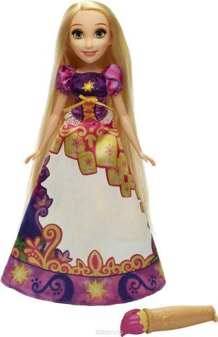 Disney Princess Кукла Рапунцель в юбке с проявляющимся принтом