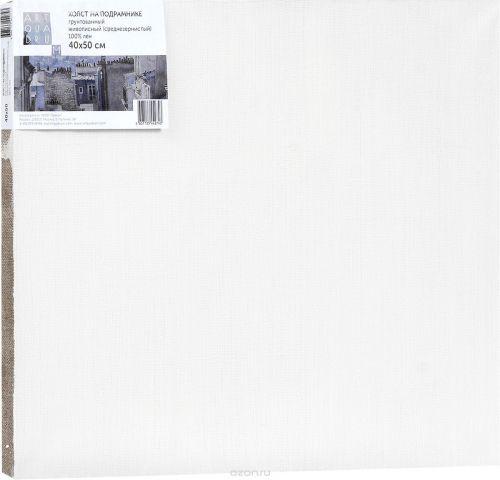 """Холст ArtQuaDrum """"Живописный"""" 40 х 50 см, на подрамнике, грунтованный"""