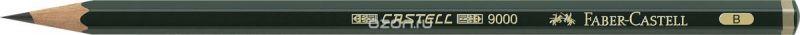 Faber-Castell Карандаш чернографитный Castell 9000 твердость B