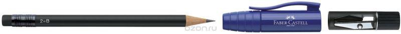 Faber-Castell Карандаш чернографитовый Perfect Pencil II цвет корпуса синий