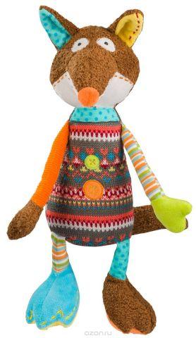 BabyOno Мягкая игрушка-погремушка Лисенок