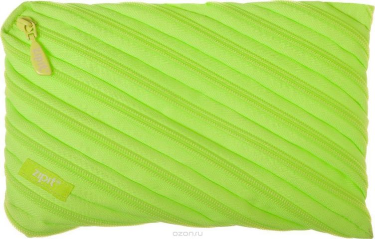 Zipit Пенал Neon Jumbo Pouch цвет лайм