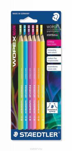 Staedtler Набор чернографитовых карандашей Wopex NEON HB 12 шт
