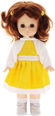 Весна Кукла озвученная Христина цвет одежды желтый белый