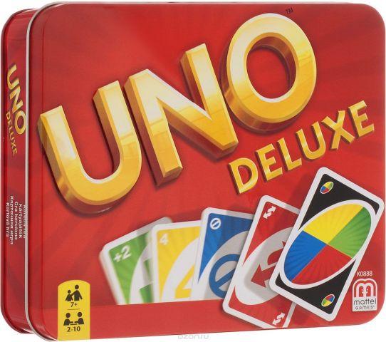 Mattel Games Настольная игра Uno Deluxe