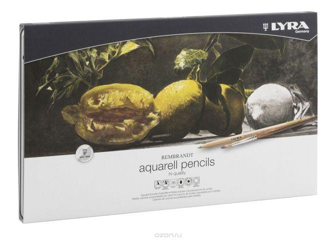 Lyra Набор художественных цветных карандашей Rembrandt Aquarell 36 шт