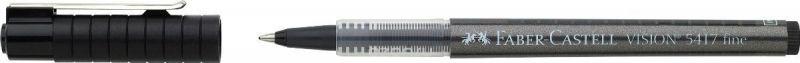 Faber-Castell Ручка-роллер Vision 5417 цвет черный