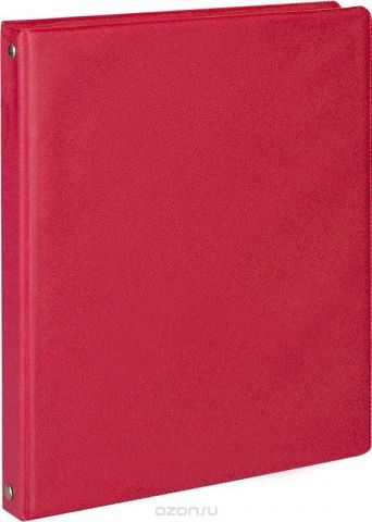 ArtSpace Тетрадь на кольцах 80 листов в клетку цвет красный ТК80пв3_15288