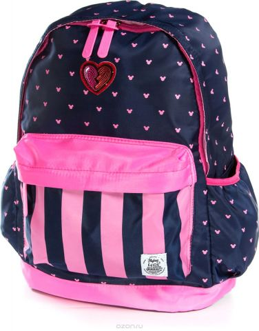Vittorio Richi Рюкзак для девочки цвет темно-синий, розовый K07R960013