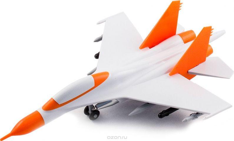 Эврика Ручка шариковая Самолет цвет корпуса оранжевый 2 шт