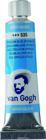Royal Talens Акварель Van Gogh цвет 535 Лазурно-синий фталоцианин 10 мл