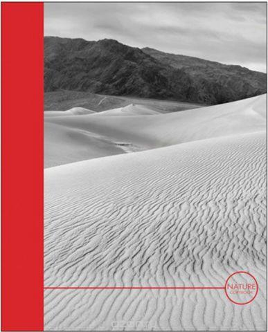 Канц-Эксмо Тетрадь Дыхание природы 96 листов в клетку цвет красный