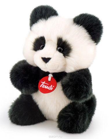 Trudi Мягкая игрушка Панда-пушистик 24 см