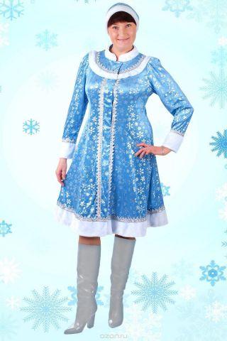 """Карнавальный костюм Страна Карнавалия """"Снегурочка"""", цвет: голубой. Размер 48"""