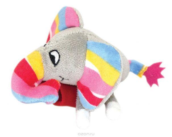 Happy Snail Игрушка-погремушка на руку Слоненок Джамбо
