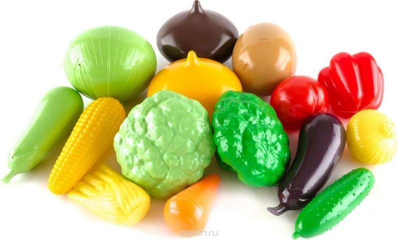 Пластмастер Игровой набор Овощи большой