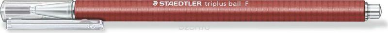 Staedtler Ручка шариковая Triplus Ball 0,3 мм цвет чернил красный