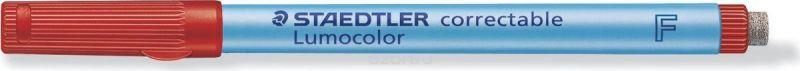 Staedtler Маркер Lumocolor с ластиком 0,6 мм цвет чернил красный