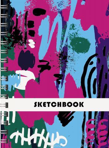 Канц-Эксмо Скетчбук Сила цвета 80 листов формат А4