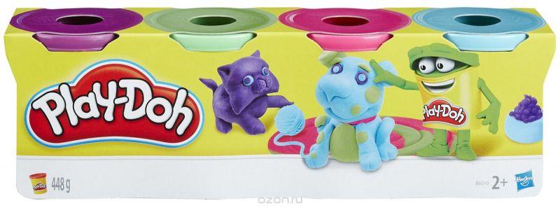Play-Doh Масса для лепки 4 цвета B6510