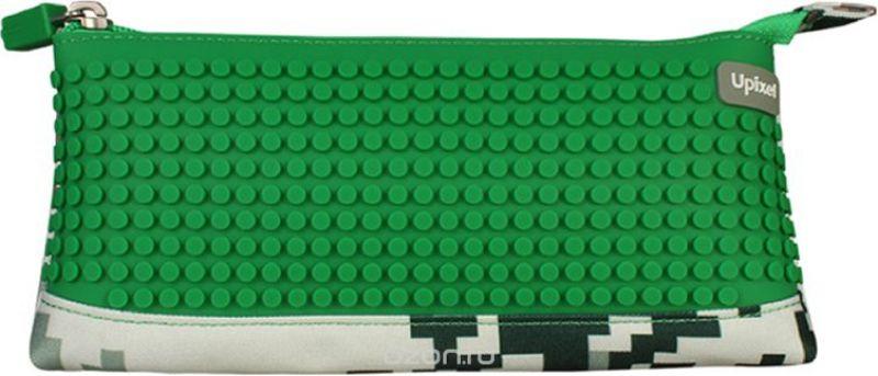 Upixel Пиксельный пенал в ярких красках цвет зеленый