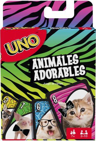 UNO Настольная игра Уно Маленькие животные