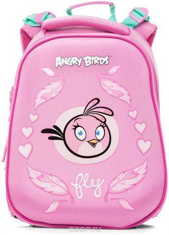 Hatber Ранец школьный Ergonomic Angry Birds Stella