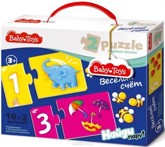 Baby Toys Пазл для малышей Веселый счет