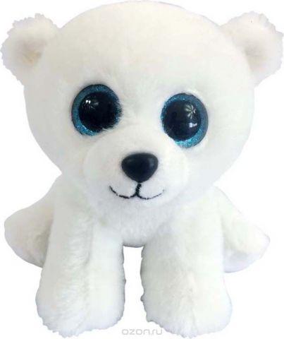 ABtoys Мягкая игрушка Медвежонок полярный 15 см