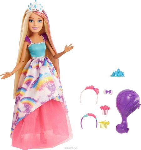 Barbie Кукла Блондинка с длинными волосами 43 см